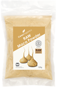 ceres raw maca powder 120g max health store
